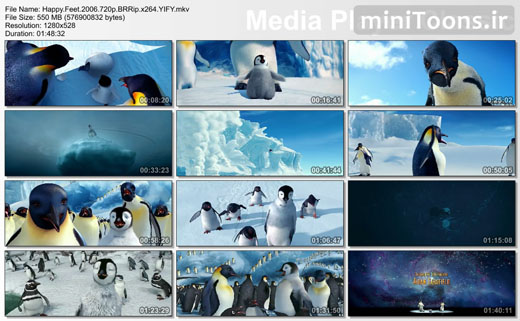 خوش قدم   Happy Feet (زبان اصلی)