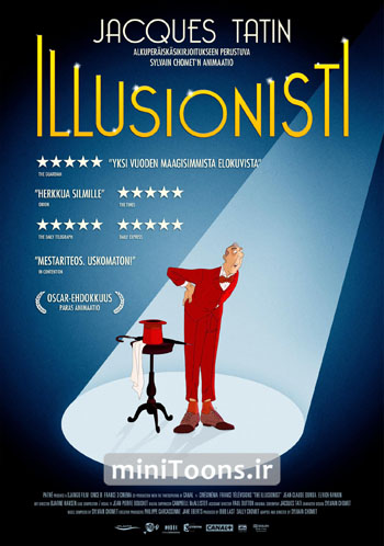 شعبده‌باز   The Illusionist (زبان اصلی)