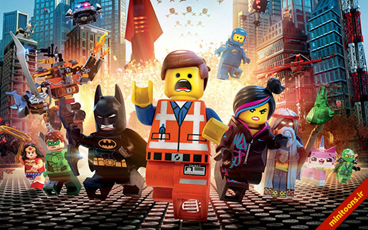 داستان لگو   The Lego Movie (تریلر)
