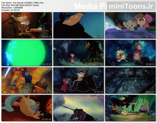 راز نیمح   The Secret of NIMH (زبان اصلی)