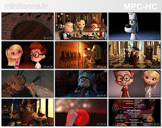 آقای پیبادی و شرمن   Mr. Peabody & Sherman (زبان اصلی)